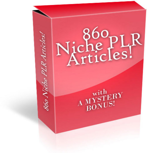 Pay for 860 Articles on 40 Niches - with PLR + MYSTERY BONUS!