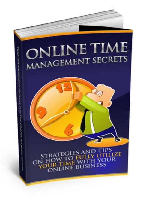 Pay for Online Time Management Secrets-Master Resale Rights+BONUSES
