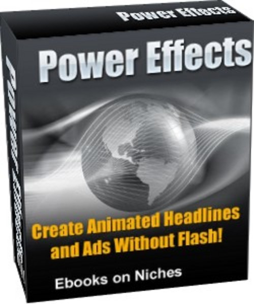 Pay for Power Effects - with Master Resell Rights+2 Mystery BONUSES!