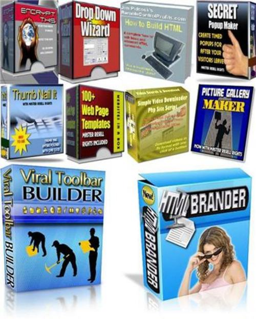 Pay for Ultimate Website Building Kit for Webmasters-with MRR+BONUS