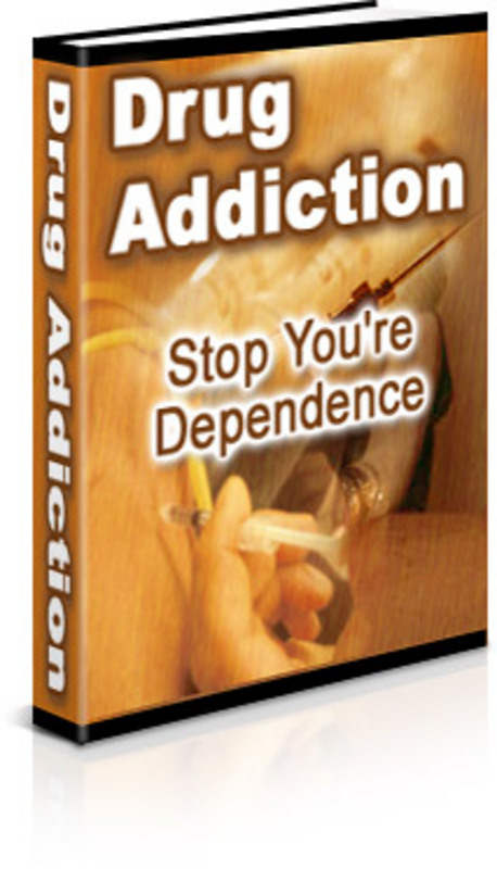 Pay for Drug Addiction: Stop Your Dependence - with FULL PLR+BONUS!