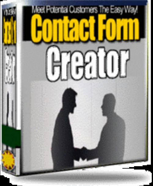 Pay for Contact Form Creator - with Master Resell Rights+2 BONUSES!