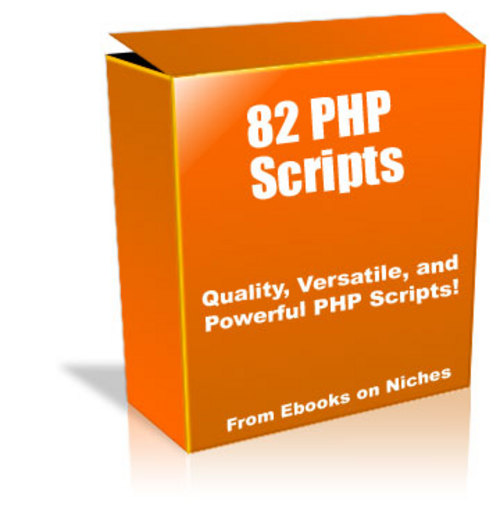 Pay for 82 Powerful PHP Scripts - with Master Resell Rights+BONUS
