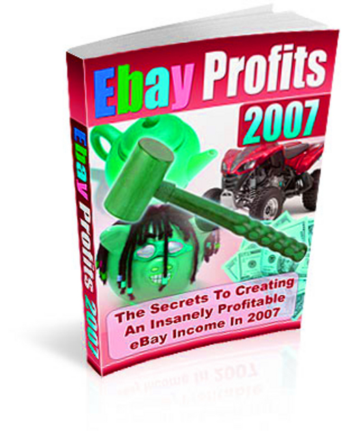 Pay for Ebay Profits -  with FULL Master Resell Rights+Mystery BONUS
