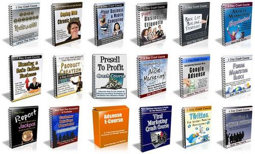 Pay for 18 Autoresponder Courses - with FULL PLR + BONUSES!