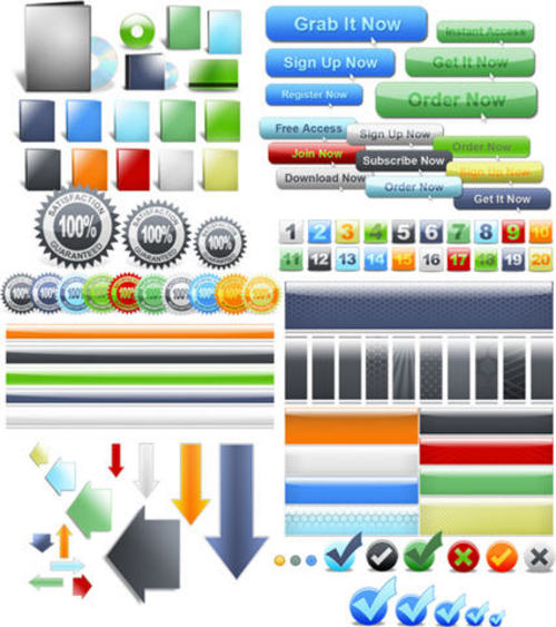 Pay for 2,000+ Web 2.0 Minisite Graphics Pack-with 2 Mystery BONUSES