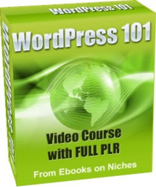 Pay for WordPress 101 Video Course - with PLR+2 BONUSES!