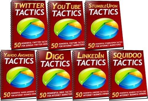 Pay for 350 Social Media Tactics - with FULL MRR+2 Mystery BONUSES!