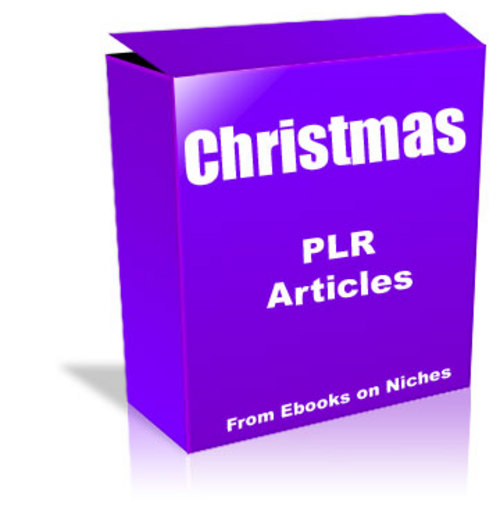 Pay for 54 Articles on Christmas - with PLR + 2 Mystery BONUSES!