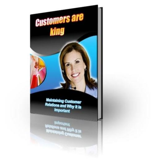 Pay for Customers Are King - with FULL PLR + 2 Mystery BONUSES!