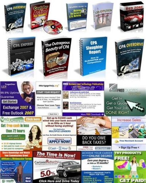 Pay for Ultimate Cost Per Action (CPA) Pack - with 2 Mystery BONUSES