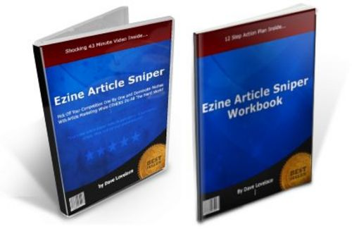 Pay for Ezine Article Sniper Video Course-with 2 Mystery BONUSES!