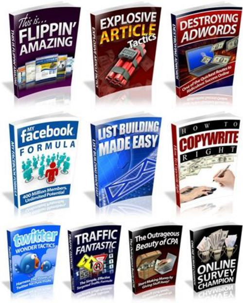Pay for 10 Internet Marketing Reports - with MRR+2 Mystery BONUSES