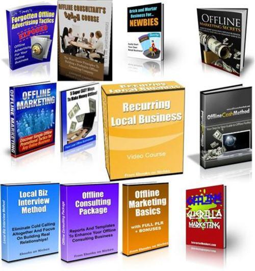 Pay for Ultimate Offline Marketing Secrets Pack + 2 Mystery BONUSES!
