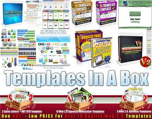 Pay for Ultimate Minisite Templates Pack + 2 Mystery BONUSES!