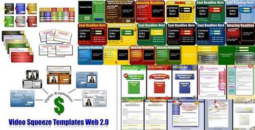 Pay for Ultimate Squeeze Page Templates Pack + 2 Mystery BONUSES!