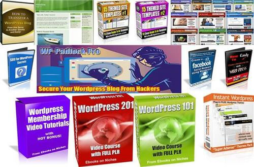 Pay for Ultimate Wordpress Pack + 2 Mystery BONUSES!