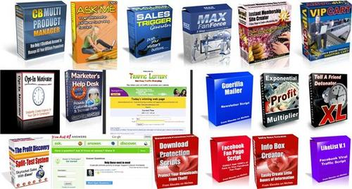Pay for Ultimate Internet Marketing Scripts Pack + 2 Mystery BONUSES