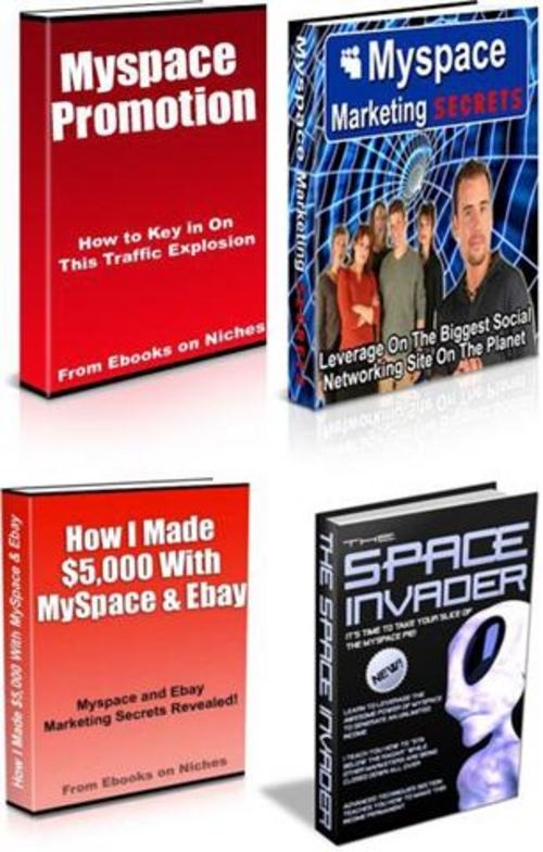 Pay for Ultimate MySpace Marketing Secrets Pack + 2 Mystery BONUSES!