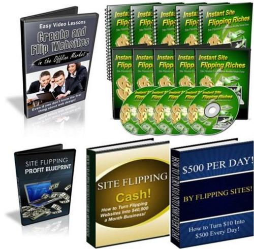 Pay for Ultimate Site Flipping Secrets Pack + 2 Mystery BONUSES!