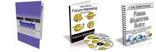 Pay for Ultimate Forum Marketing Secrets Pack + 2 Mystery BONUSES!