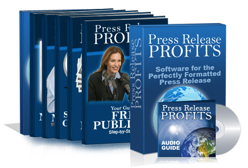 Pay for Press Release Profits Home Study Course - with 5 BONUSES!