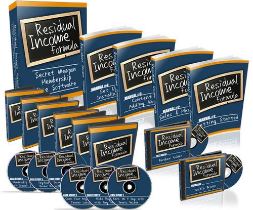 Pay for Residual Income Formula Home Study Course+2 Mystery BONUSES!