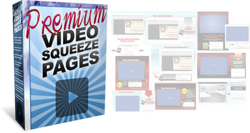 Pay for Premium Video Squeeze Page Template Pack + 2 Mystery BONUSES