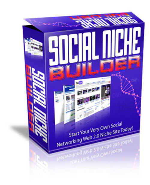 Pay for Social Niche Site Builder - with PLR + 2 Mystery BONUSES!