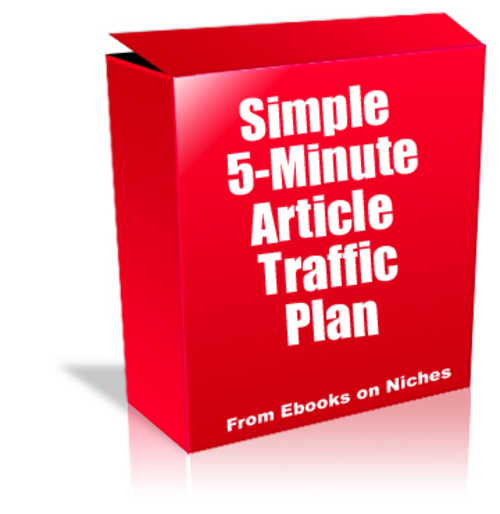 Pay for Simple 5-Minute Article Traffic Plan - MRR+2 Mystery BONUSES