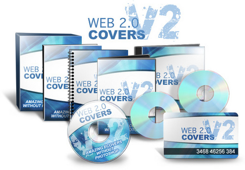 Pay for Web 2.0 Covers V2 - Stunning E-Covers WITHOUT Photoshop!
