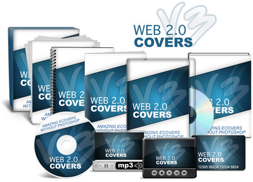 Pay for Web 2.0 Covers V3 - Stunning E-Covers WITHOUT Photoshop!