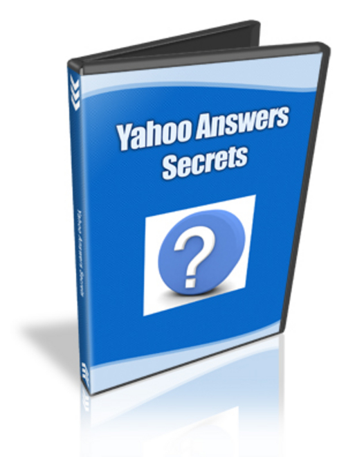 Pay for Yahoo Answers Secrets Video Course - MRR+2 Mystery BONUSES