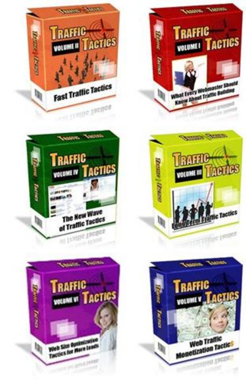 Pay for 750 Traffic Tactics - with FULL PLR + 2 Mystery BONUSES!