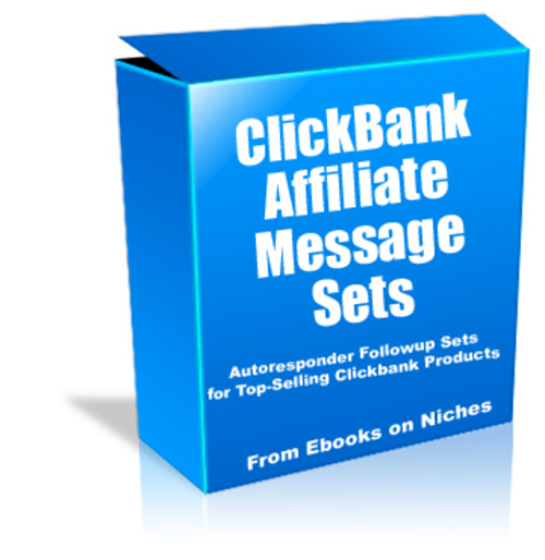 Pay for ClickBank Affiliate Message Sets - PLR + 2 Mystery BONUSES!