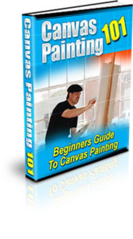 Pay for Canvas Painting for the Beginner - PLR + 2 Mystery BONUSES!