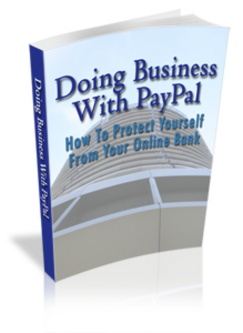 Pay for Doing Business With Paypal - with FULL MRR+2 Mystery BONUSES