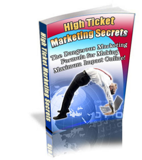 Pay for High-Ticket Marketing Secrets - with PLR + 2 Mystery BONUSES