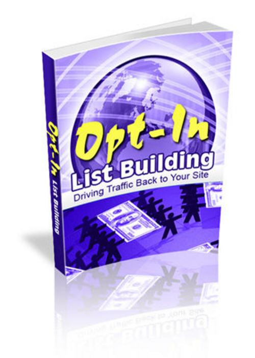 Pay for Opt-In List Building - Master Resell Rights+Mystery BONUSES!