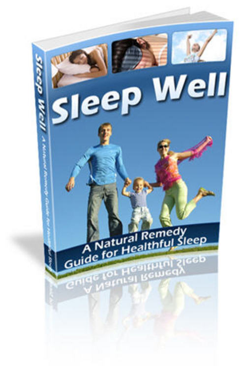 Pay for Sleep Well: A Natural Remedy Guide for Healthful Sleep - MRR