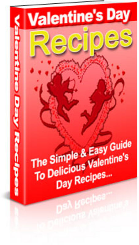 Pay for Valentine´s Day Recipes - with FULL PLR + 2 Mystery BONUSES!