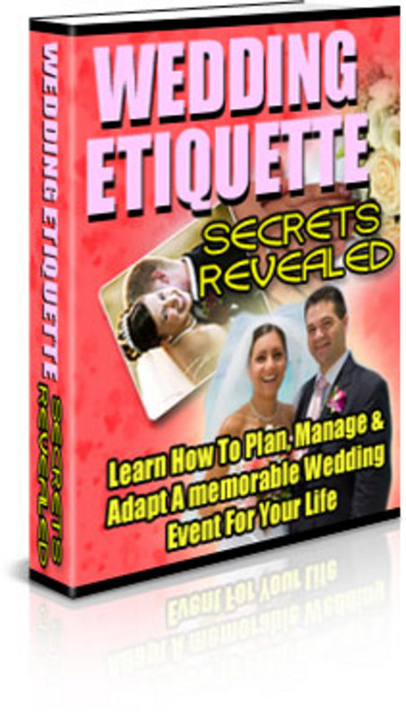 Pay for Wedding Etiquette Secrets Revealed-with PLR+Mystery BONUSES!