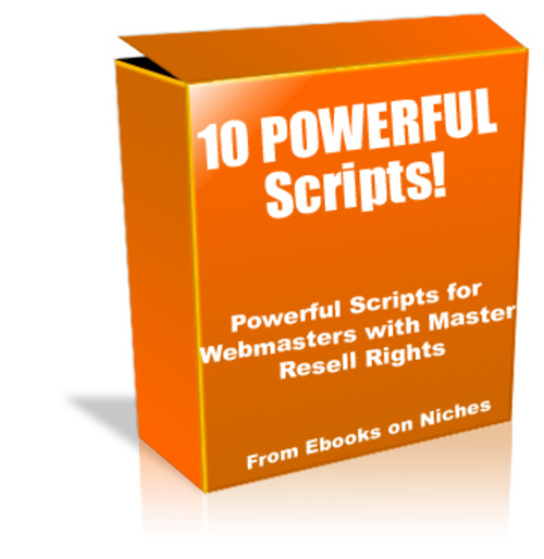 Pay for 10 Powerful Scripts for Webmasters - with MRR+ 2 BONUSES