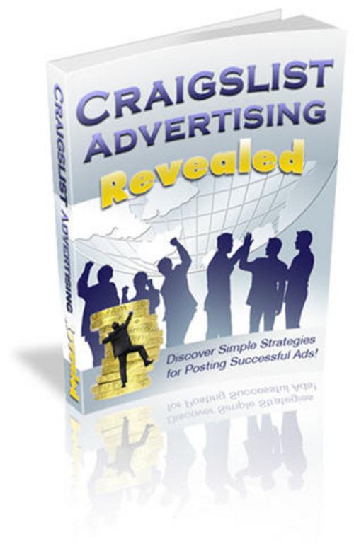 Pay for Craigslist Advertising Revealed - with FULL PLR + 2 BONUSES!