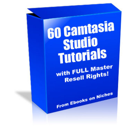 Pay for 60 Camtasia Studio Tutorials - MRR + 2 Mystery BONUSES!