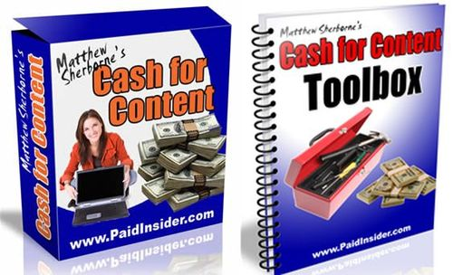 Pay for Cash For Content System - with MRR + 2 Mystery BONUSES!