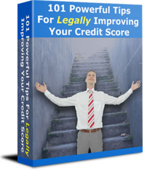 Pay for 101 Powerful Tips for Improving Your Credit Score - with PLR