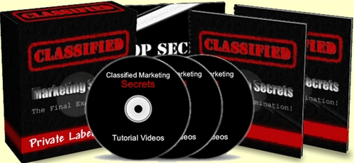 Pay for Classified Marketing Secrets - with PLR + 2 Mystery BONUSES!