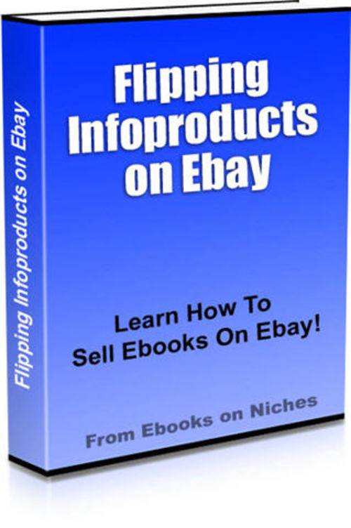 Pay for Flipping Infoproducts on Ebay - with PLR + 2 Mystery BONUSES