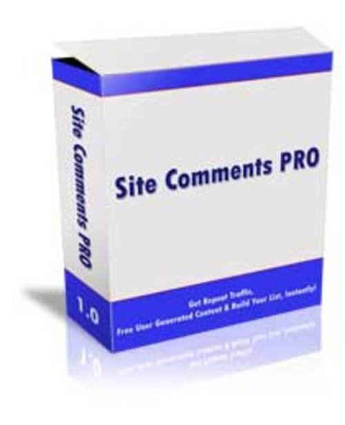 Pay for Site Comments Pro Script - with MRR + 2 Mystery BONUSES!